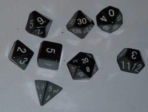 One Standard Set of Dice